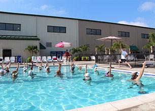 Aqua Yoga Class
