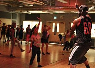 BodyJam Group Fitness Class - Cardio workout