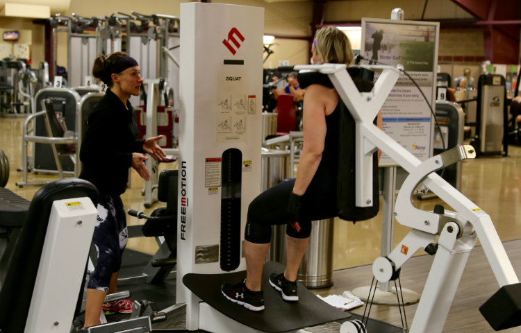 Personal-Training-Squat