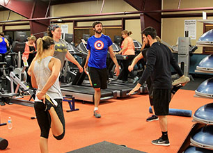 Small Group Cardio and Strength Building Class