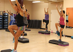 Step I.T. Group Fitness Class