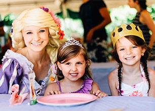 Kid's Princess Party